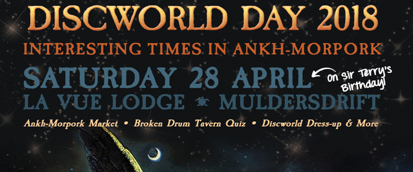 Discworld Day 2018 – Interesting Times in Ankh-Morpork