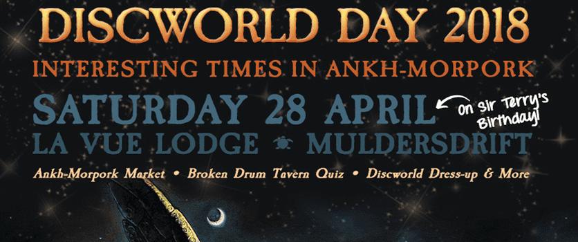 Discworld Day 2018 – Interesting Times in Ankh-Morpork