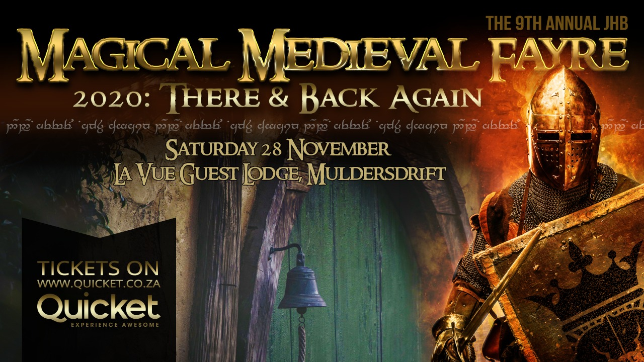 Medieval Fayre 2020 – There & Back Again : Date Change