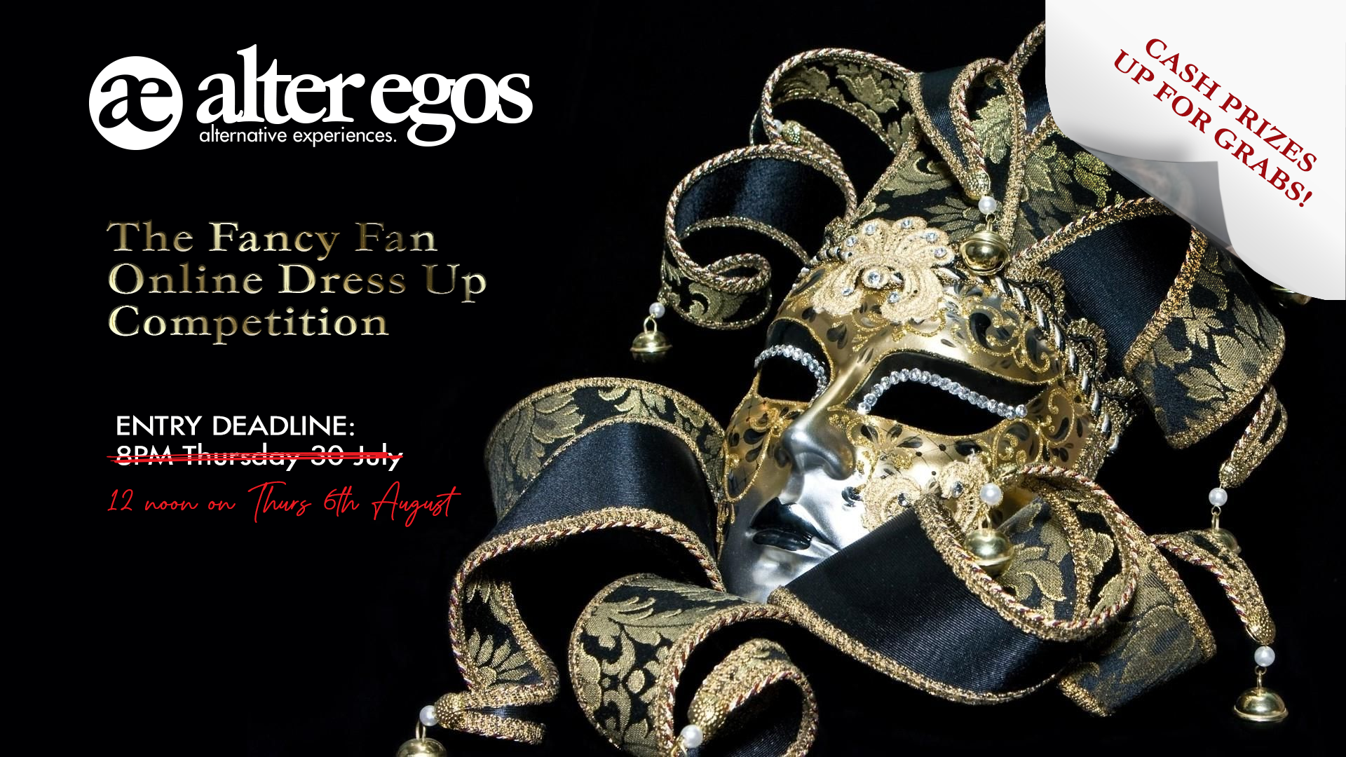 The AlterEgos Fancy Fan Online Dress Up Contest